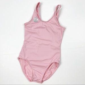 Balera Pink Tank Ballet Leotard Intermediate Child